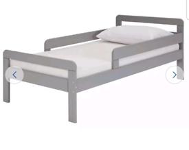 Brand new grey toddler bed frame