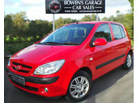 2009 HYUNDAI GETZ 1.4 CDX 5DR - LOW MILES - FULL S/HISTORY - TOP SPEC