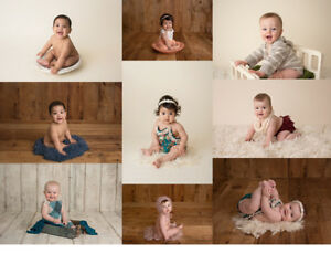 Sitter Sessions - Baby Milestone Photography