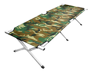 Camo camp cot Grizzly Outdoors
