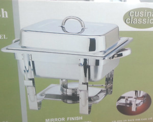 Chafing Dish Capacity 4 Liters 18/10 Stainless Steels $50..