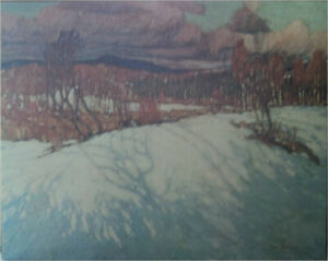"Canvas print of Tom Thomson's ""Last Spring in Algonquin Park""."