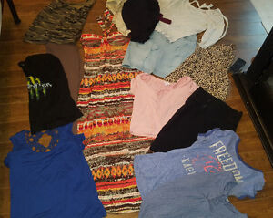 Bag of women clothing
