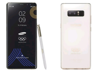 Note 8 olympic edition