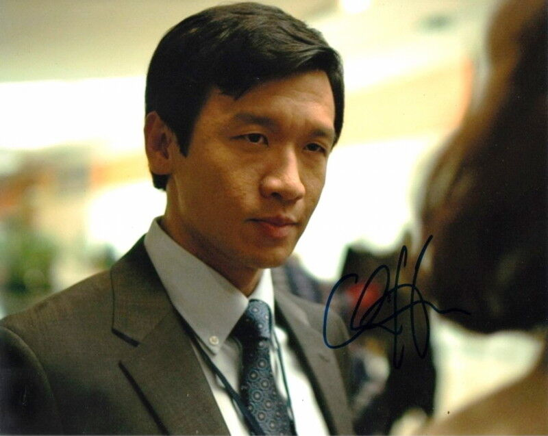 CHIN HAN.. The Dark Knight - SIGNED