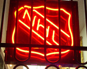 Reduced NHL Neon Sign Fully Functional Only $450