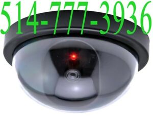 ✔ Fake Dome Dummy Security CCTV Home Camera CAM LED Fausse