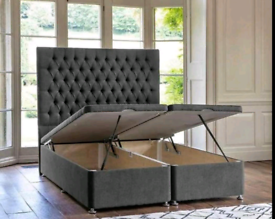 🌟💥😍 Assembled ottoman storage bed + free delivery!