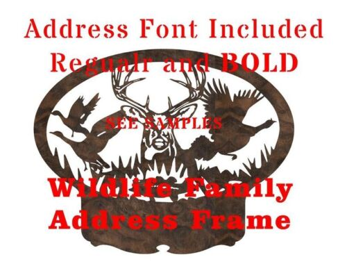 DXF CNC  Plasma Laser Waterjet Plotter Router Cut Ready Vector Graphics Deer
