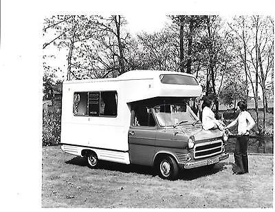 Ford Transit Ci Autohome Motorhome Press Photo Brochure 1973