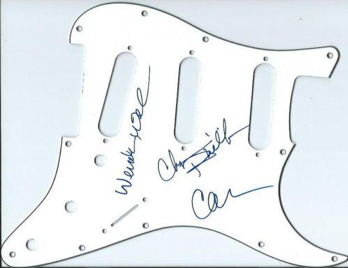Wilson Phillips autographed guitar pickguard