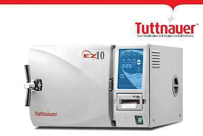 Tuttnauer Ez10 The Fully Automatic Autoclave No Printer 2 Year Warranty New