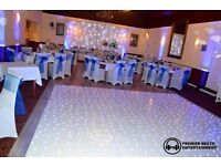 Dance Floor Hire (Starlit Dancefloors & Checkered Dancefloors)