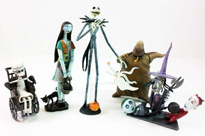 Jun Planning Nightmare Before Christmas Jack Trading Figures Series 1 Set Of 6
