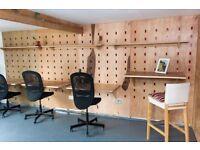 Co-working desks / small office space - One Fox Lane, Adamsdown