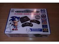 new megadrive with build in 80 games unopened