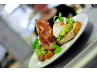 BREAKFAST / LUNCH CHEF for AWARD WINNING V&H CAFE on HOLLAND ROAD in HOVE.