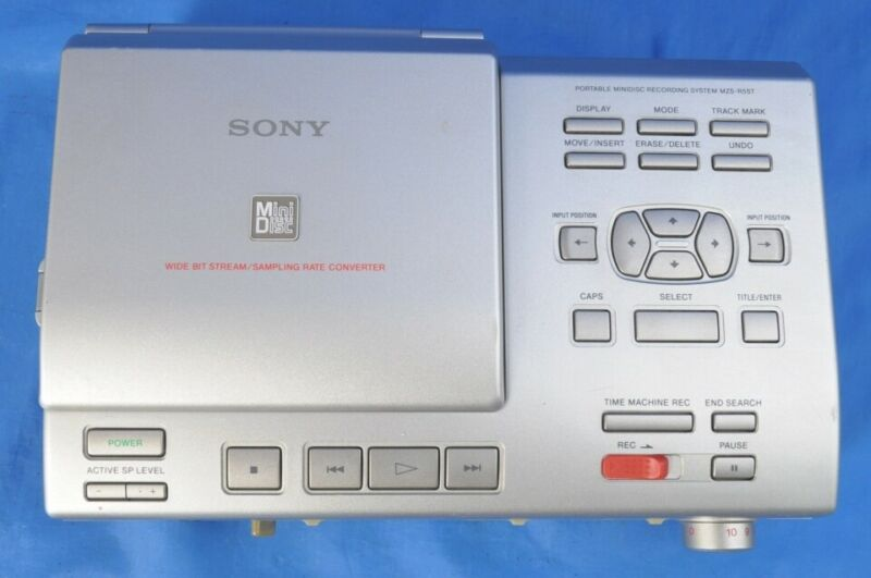 Sony MZS-R5ST Portable Mini Disc Recorder Player MD Silver