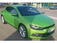 2010 Volkswagen Scirocco 2.0 TSI GT 3dr Green Manual Low Mileage New MOT