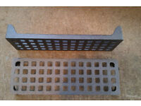 """cast iron air bricks 9""""x6"""" and 9""""x3"""" traditional cast iron metal"""
