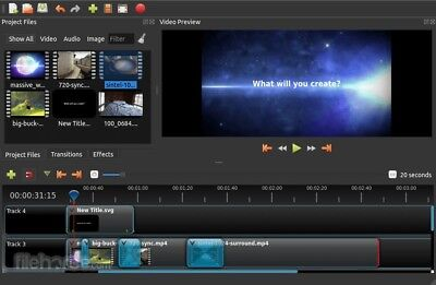 PROFESSIONAL VIDEO EDITING SOFTWARE CREATE EDIT EFFECTS - WINDOWS 10 8 7 AND