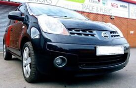2008 NISSAN NOTE ACENTA R 1.4L BLACK PETROL - IDEAL FIRST OR FAMILY CAR CHEAP INSURANCE & RUNNER