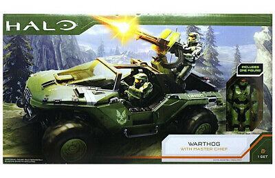 Jazwares Halo Infinite Warthog & Master Chief Vehicle Deluxe Figure Set 2020 NEW