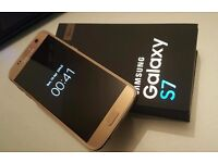 Samsung S7 GOLD| | UNLOCKED \ new ccondition, MAY SWAP