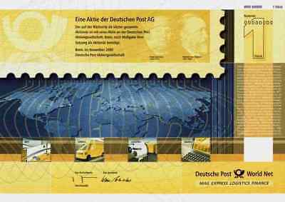Deutsche Post Bonn Berlin DHL von Turn Taxis 2000 Stephan Orginalmuster 1 Aktie