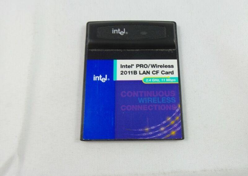Intel Pro Wireless 2011B Lan CF Card - 2.4 GHz 11 Mbps (WCF2011BMWW)