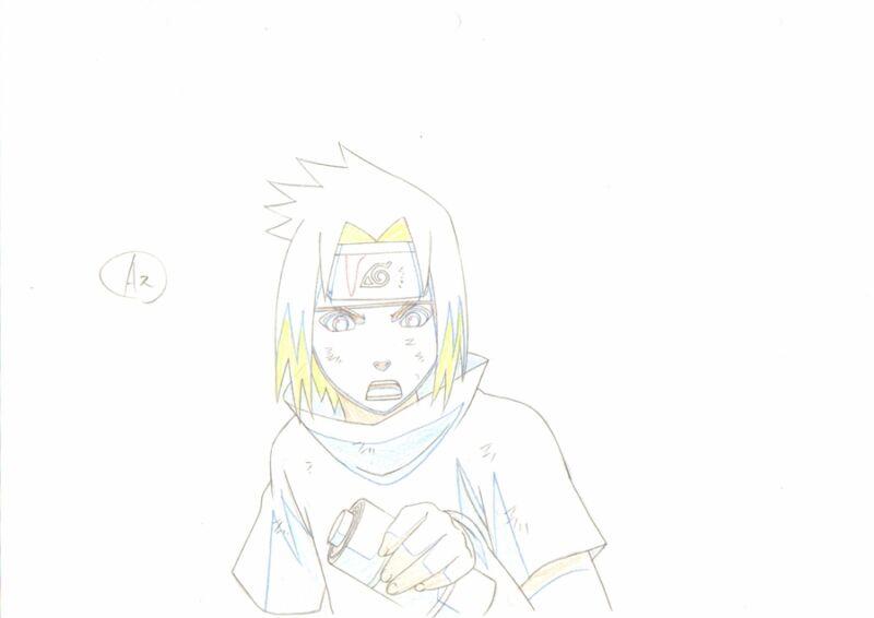 Anime Genga not Cel Naruto #207