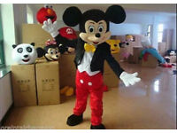 Adults Mickey Mouse mascot outfit