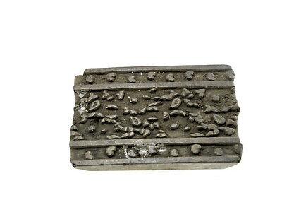 Antique Bunta Stamped Wood Printing Fabric Textile Batik Rajasthan India NP17D4