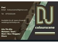 Dj for hire all occasions Birthdays weddings etc very reliable and trustworthy.