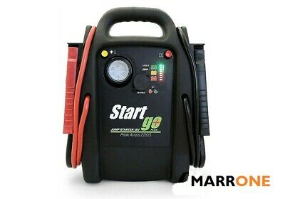 BOOSTER SG2200 INTEC START GO PLUS AVVIATORE EMERGENZA PROFESSIONALE 12V 2200PA