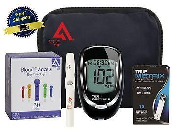 Glucometer Blood Glucose Starter Kit Sugar Monitoring Test Diabetes Diabetic New