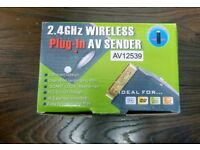 WIRELESS PLUGIN AV SENDER 2.5GHZ