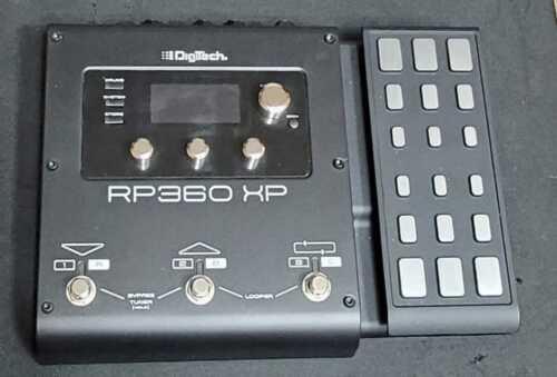 DigiTech RP360 Multi-Effects Guitar Effect Pedal w/ Power Supply