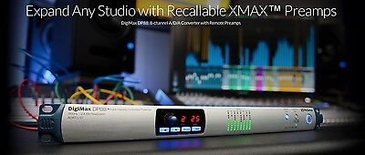 PreSonus DigiMax DP88 8 Channel ADAT Mic Preamp Expansion Apollo Studio 192 NEW
