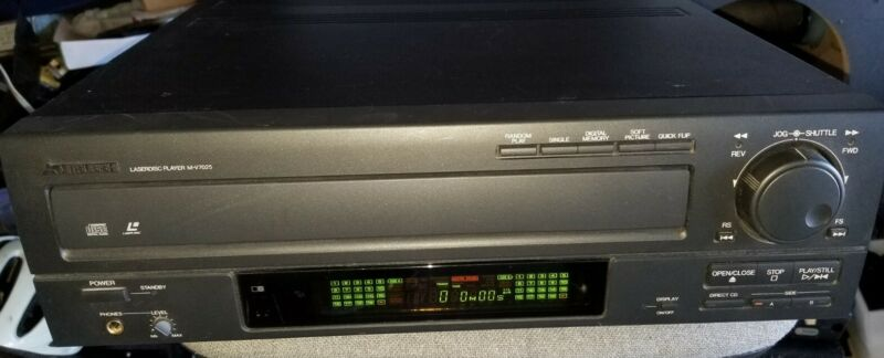 Mitsubishi M-V7025 Laserdisc Player CD CDV LD with AC3 and Coaxial Outputs