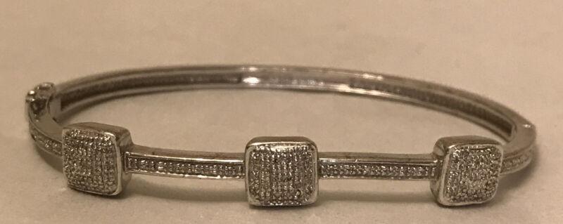 vintage 925  bracelet Size 7 (15 Grams)