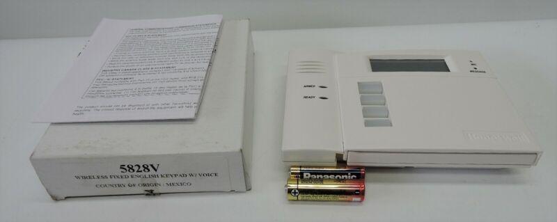 Ademco Honeywell 5828V Wireless Fixed English Keypad w/Voice - NEW!