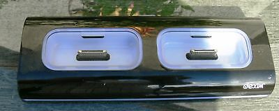 Ipod Pin-anschluss (DCA037 Dual Dock Charger Ladegerät für IPhone / iPod mit 30 Pin Anschluß)
