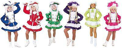 Funken Kostüm Garde Tanz Mariechen Uniform Kinder Funkenkostüm Funkemariechen