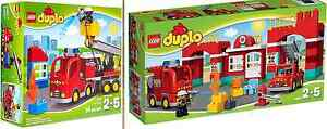 Lego Duplo Fire Station 10593 & Fire Truck 10592 BRAND NEW IN BOX Seven Hills Blacktown Area Preview