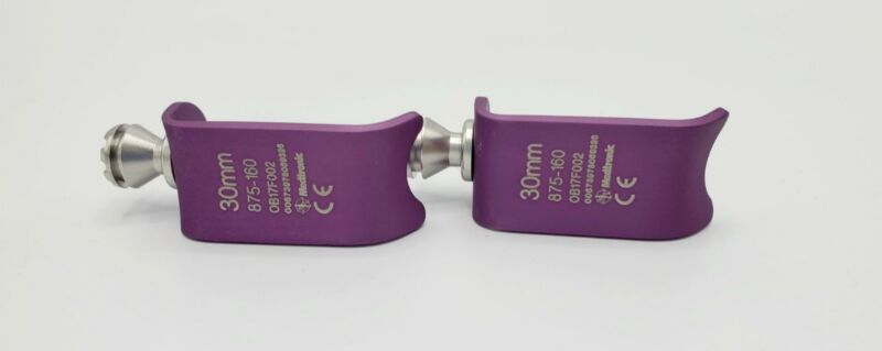 Medtronic Trimline 875-160 ACDF Longitudinal Blades Purple 30mm Set of 2