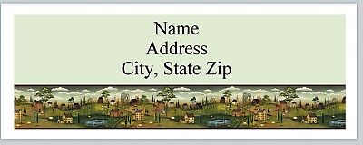 Personalized Address Labels Primitive Country Farms Buy 3 Get 1 Free P 360