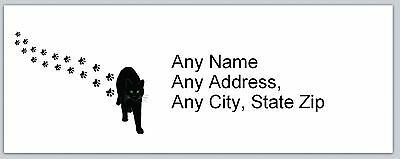 Personalized Address Labels Cat Buy 3 Get 1 Free Ac 629