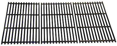hyG937C Porcelain Coated Cast Iron Grill Grates Replacement for Charbroil Grills