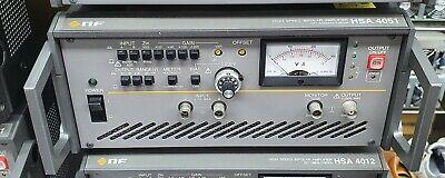 Nf Hsa4051 High Speed Bipolar Amplifier Dc-500khz100va